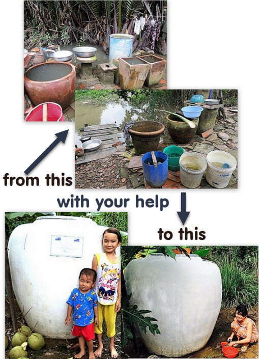 Clean Water Tank Project (Vietnam)