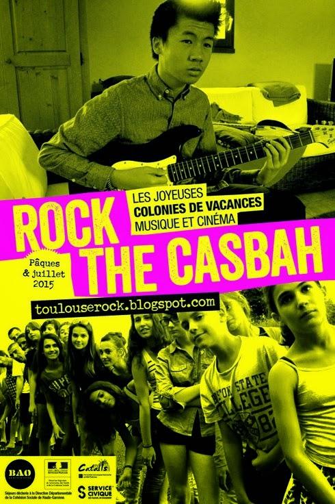 La colonie de vacances musique et cinéma Rock The Casbah 2015