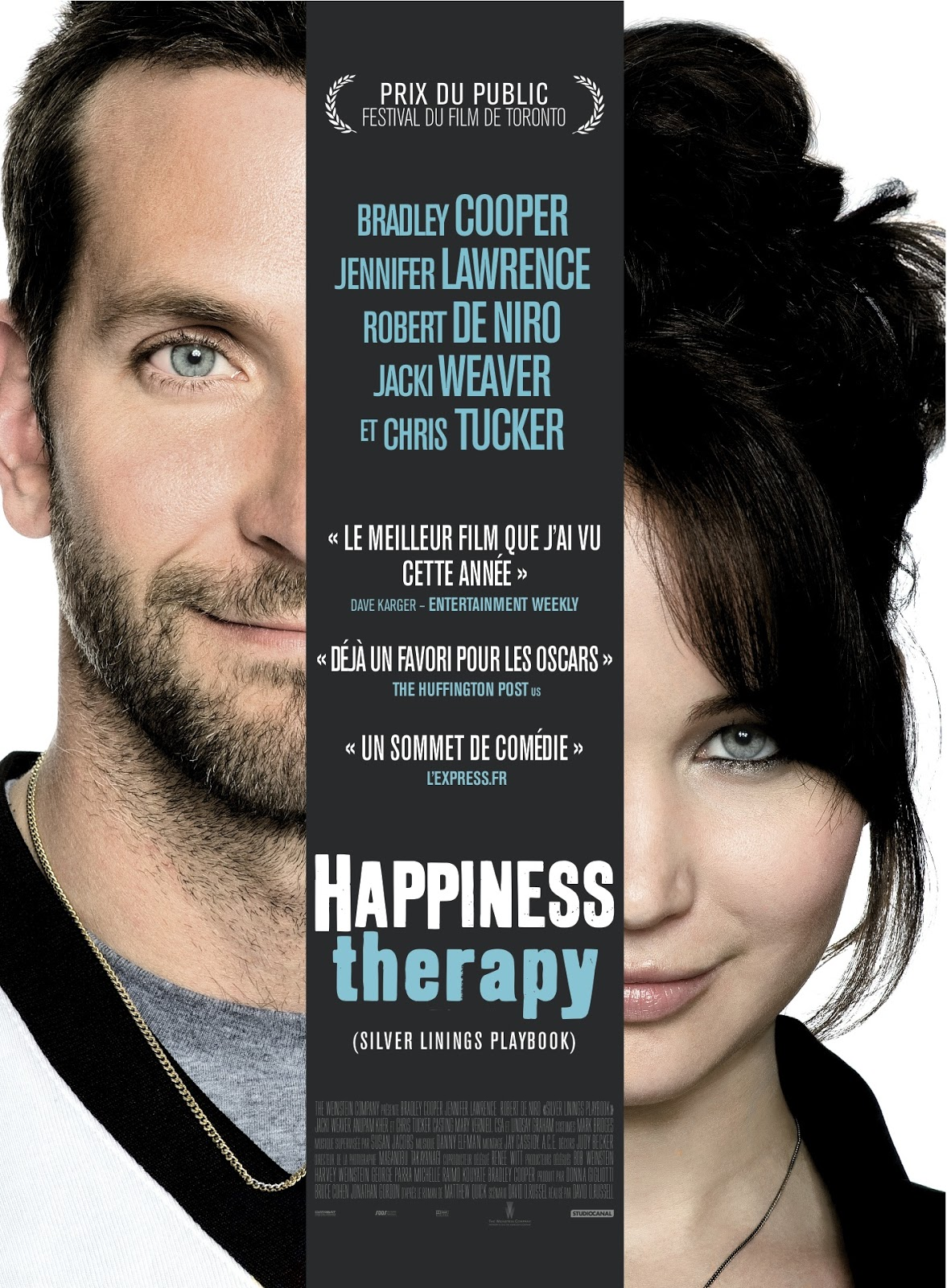 silver linings playbook review Bradley cooper and jennifer lawrence explore the ups and downs of mental  illness, medication and football in the quirky romance silver.