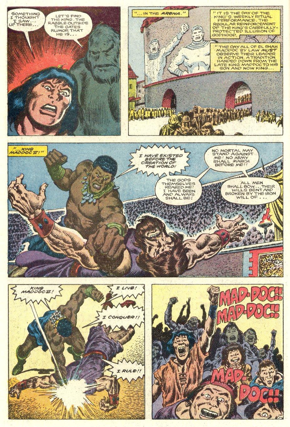 Conan the Barbarian (1970) Issue #181 #193 - English 7