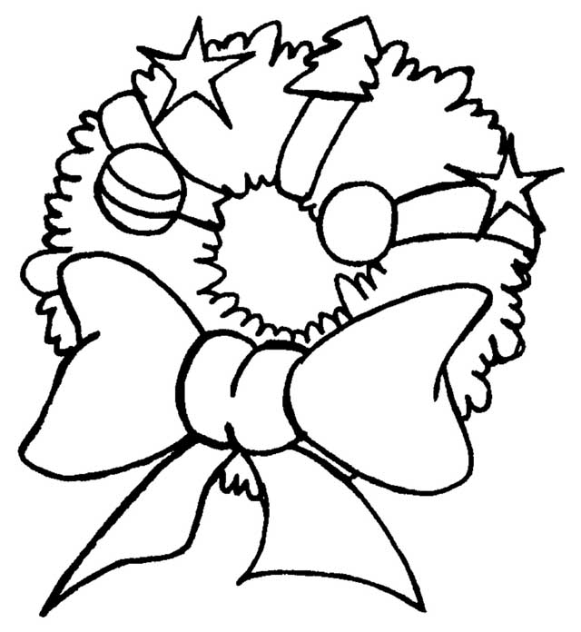 Christmas Ornament Coloring Pages For Kids