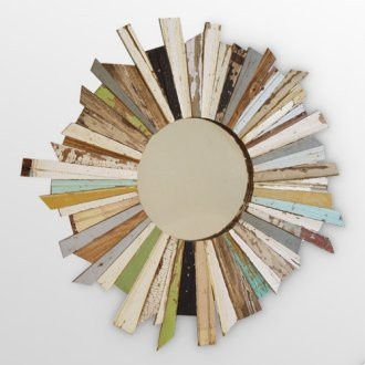Design Of Reclaimed Wood Mirror : ... Designs: Home Decor & Art Made From Old Salvaged Reclaimed Wood