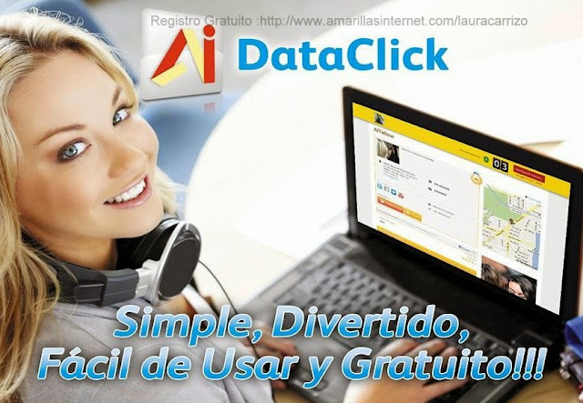 Dataclickers Amarillas Internet