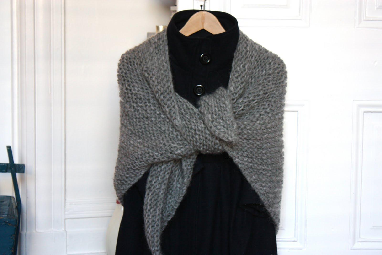 Modele chale tricot gratuit facile - Tuto tricot debutant gratuit ...