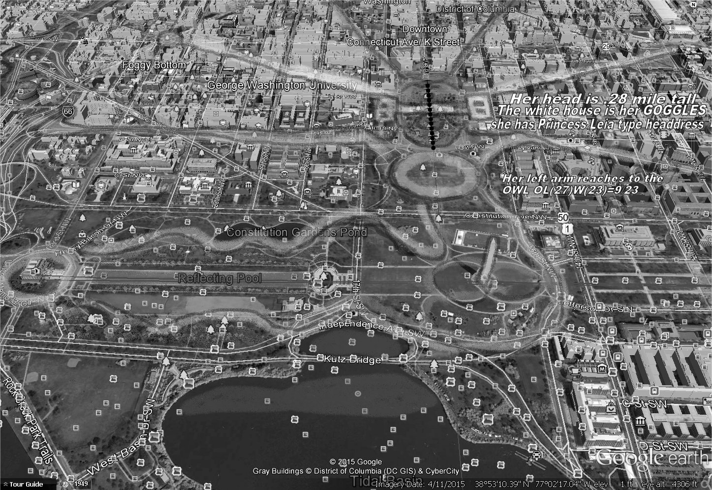 Records Of The Grand Historian Viral Our LADY ISIS Of Washington - Washington dc pyramid map