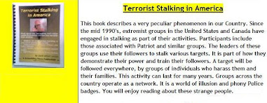 Gang-stalking ALWAYS is STATE TERRORISM! Independent gangs CANNOT exist!