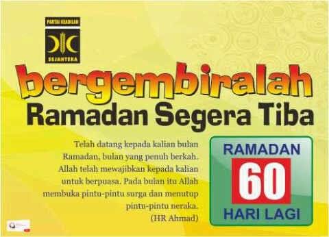 Ramadan Kian Menjelang Rembulan Hati