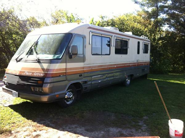 Used Rvs 1988 Pace Arrow Motor Home For Sale For Sale By Owner