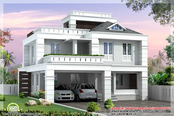 4 Bedroom Modern Home Design 2550