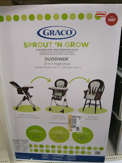 Graco Sprout N Grow Duodiner