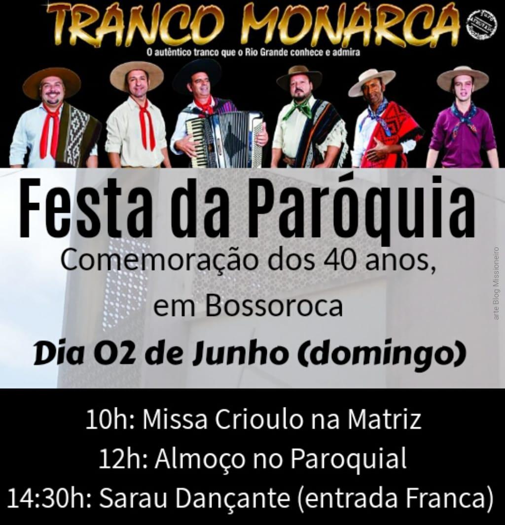 Festa da Paróquia em Bossoroca