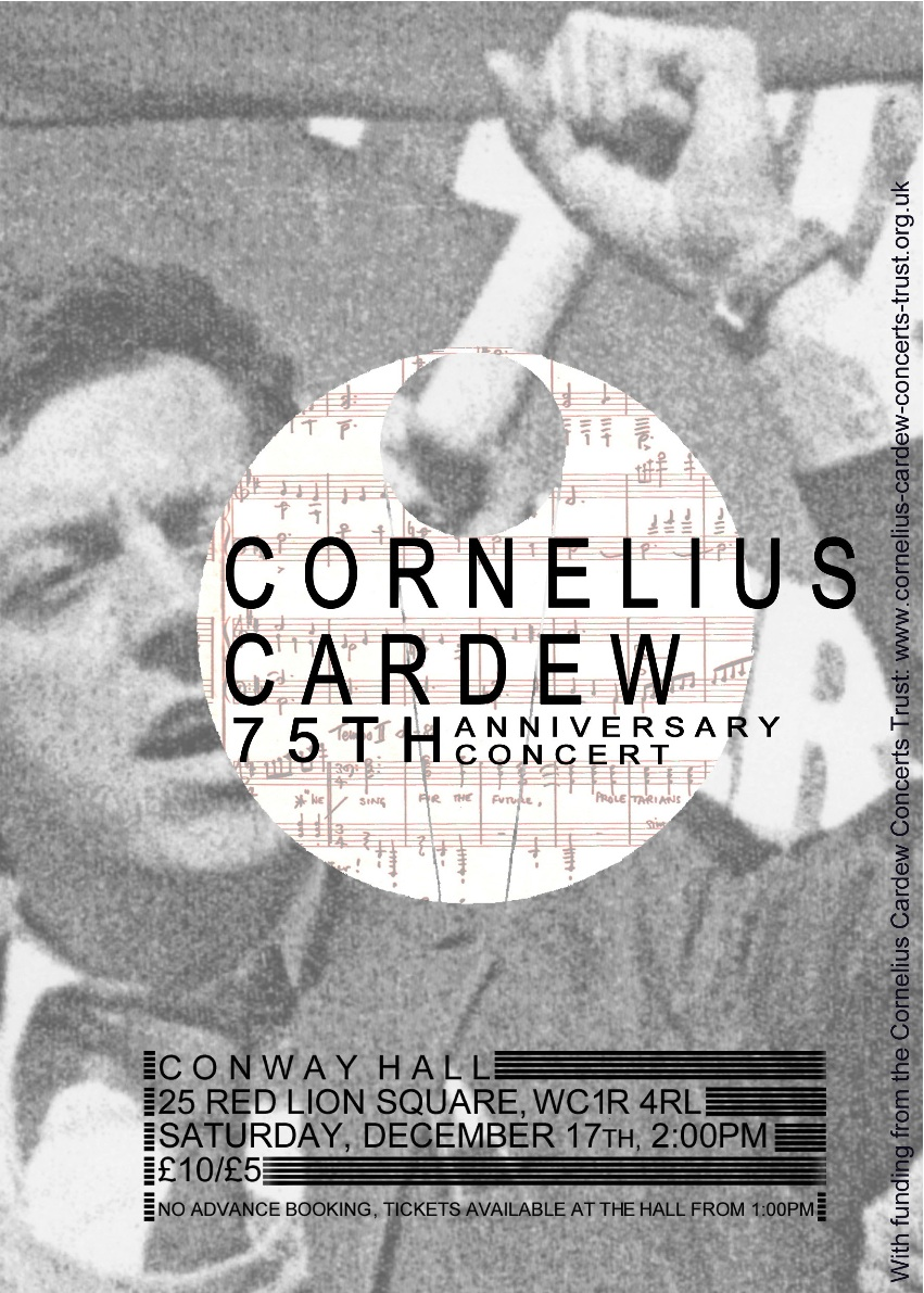 Cornelius Cardew - We Only Want The Earth