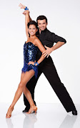 Melissa Rycroft and Tony Dovolani. I'm not a fan of Melissa to be frank .