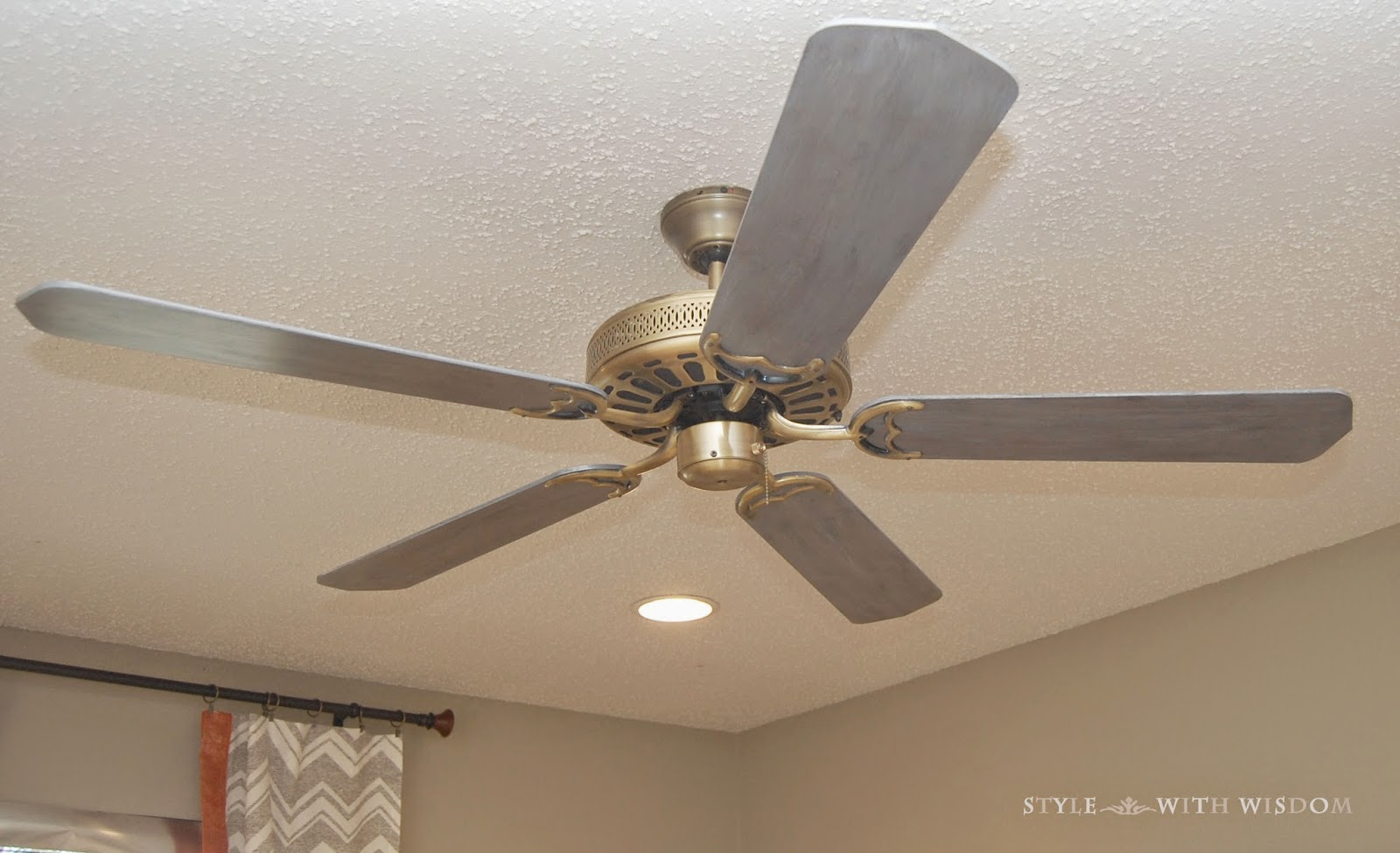 Woodland Nursery DIY ceiling fan
