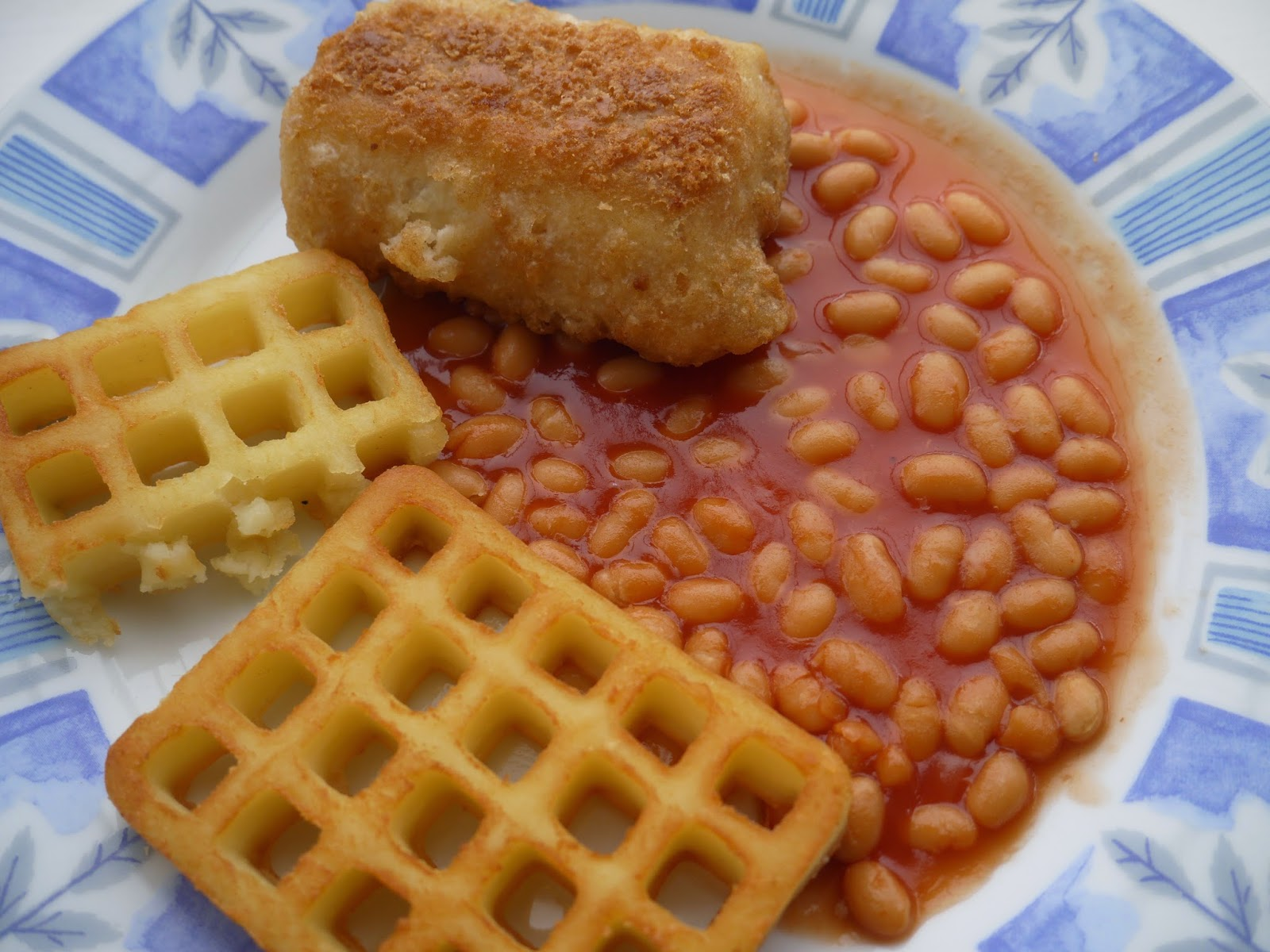 Potato Waffles And Beans images