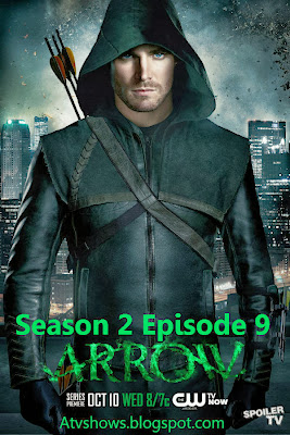 Arrow Season 2 Episode 9: Three Ghosts