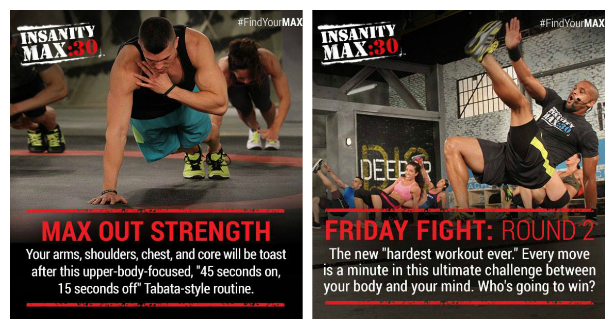 Insanity Max:30 - Month 2