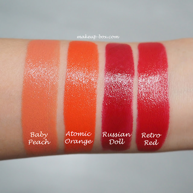 The Makeup Box: Bobbi Brown Luxe Lip Color Swatches and ... Mac Lipstick Full Fuchsia