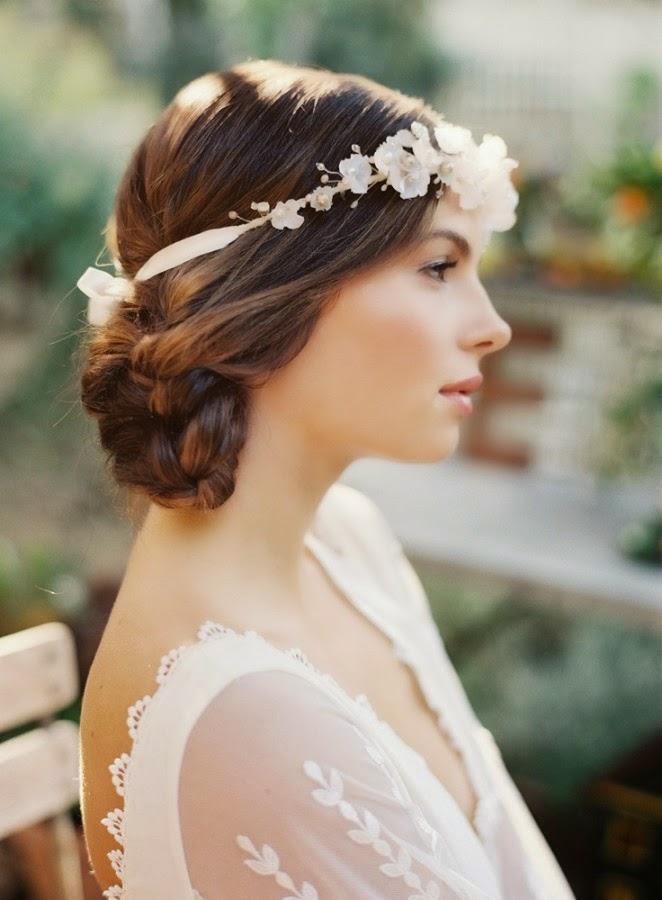Moda cabellos peinados vintage para bodas - Moda para boda ...