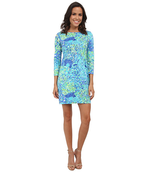 lilly pulitzer marlowe dress sea blue lillys lagoon new teacher appropriate to wear to school