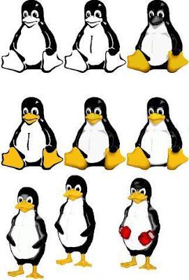 Tux versões