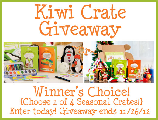 kiwicrate giveaway holiday winners choice