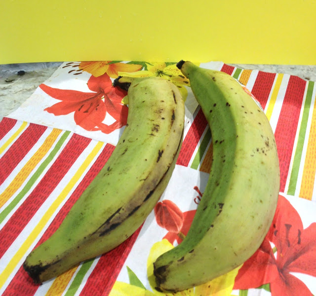 plantains on a napkin