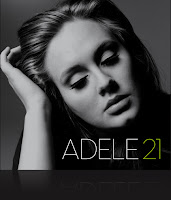 Adele 21 Album Cover graphic from The Big Picture production blog