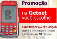 Promoção na Getnet você escolhe