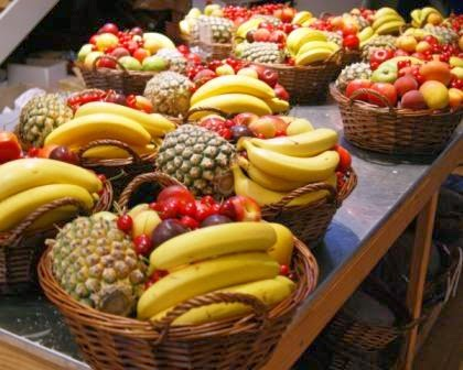 bananas in an award winning fruit hamper sydney