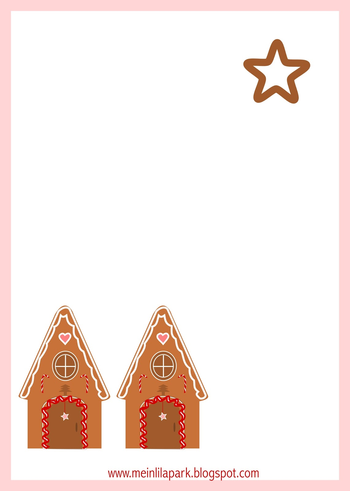 Gingerbread house free printables - Free Printable Gingerbread House Tags