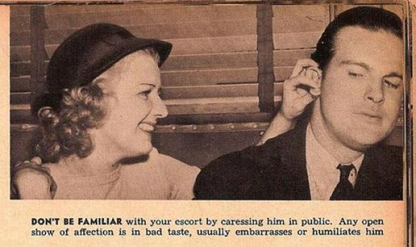 Dating customs in the 1930s