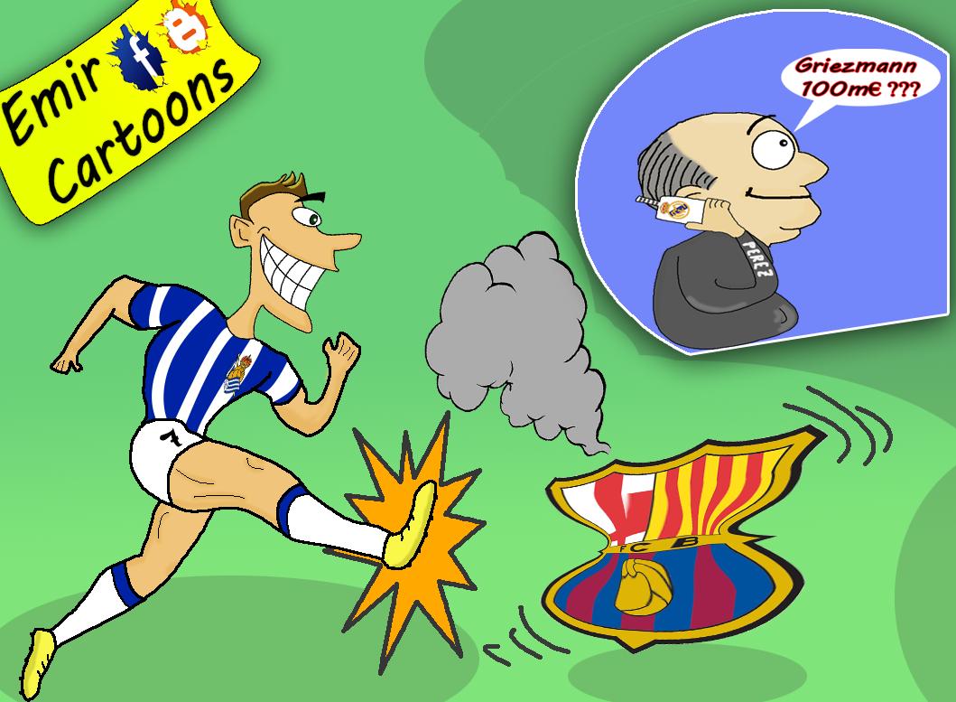 Antoine Griezmann,football,cartoon,karikature,