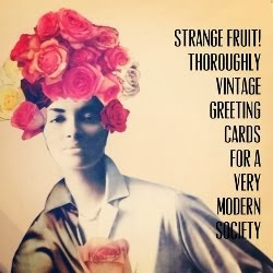 Strange Fruit Greeting Cards