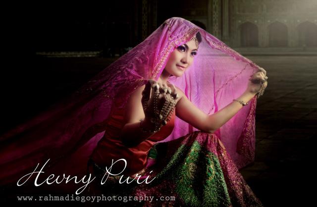 foto model cantik  konsep India rahmadi egoy photography