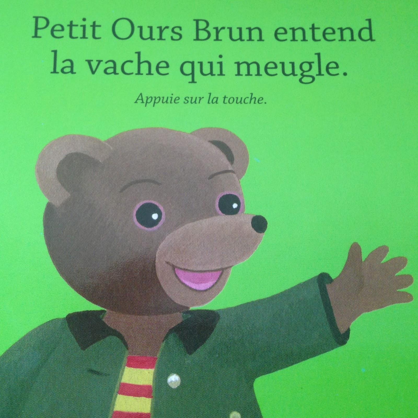 maman zest petit ours brun 233 coute les animaux editions bayard jeunesse