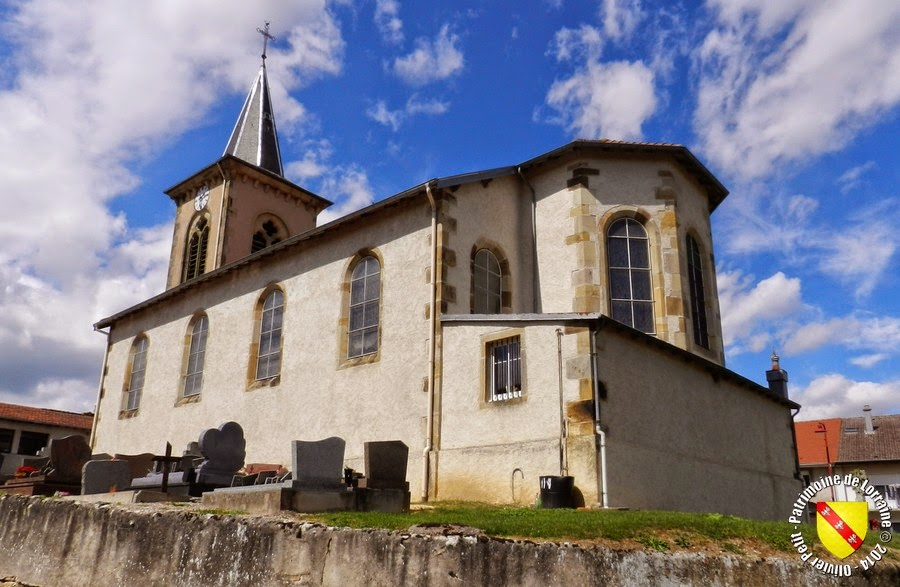 BAYECOURT (88) - Eglise Sainte-Libaire