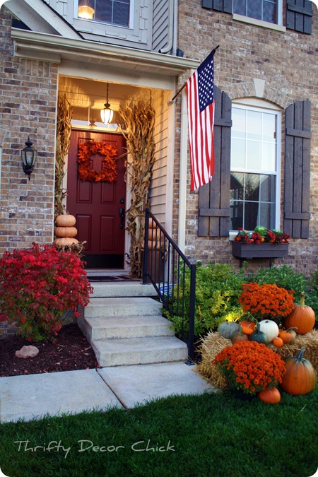 Tranquillity cottage blog ekkkkk halloween decorating ideas for Front yard decor