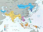 Colonial Southeast Asia circa 1850's. Thailand/Siam