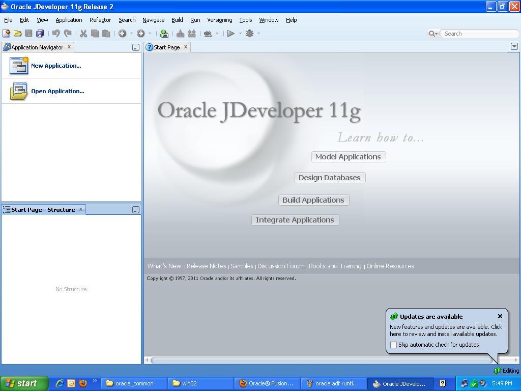Java web development how to install jdeveloper 11g ide adf run how to install jdeveloper 11g ide how to install oracle adf run time how baditri Images