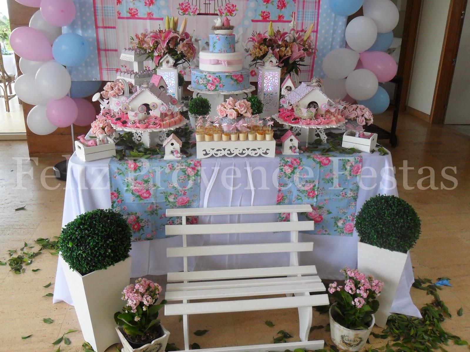 mesa de festa infantil jardim encantado : mesa de festa infantil jardim encantado:Feliz Provence Festas: Batizado + 1º aninho: Jardim Encantado