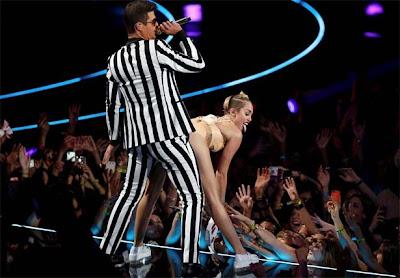 Dança de Miley Cyrus nos Video Music Awards