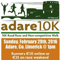 Popular 10k in Limerick...Sun 28th Feb 2016
