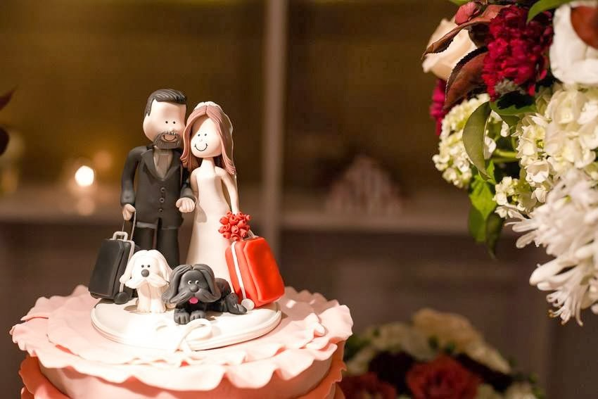 topo do bolo, noivinhos