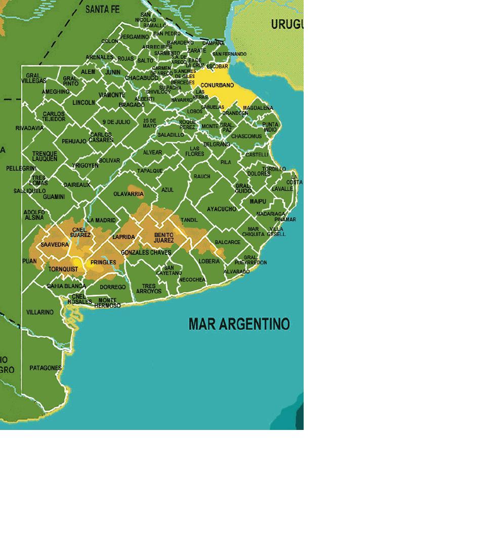 Municipios de Buenos Aires