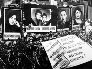 az azeri azerbaijan genocide baku maragha sumgayit armenian karabakh