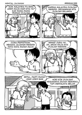 Resensi 9 Ciri Negatif Manusia Indonesia #Dalam Komik