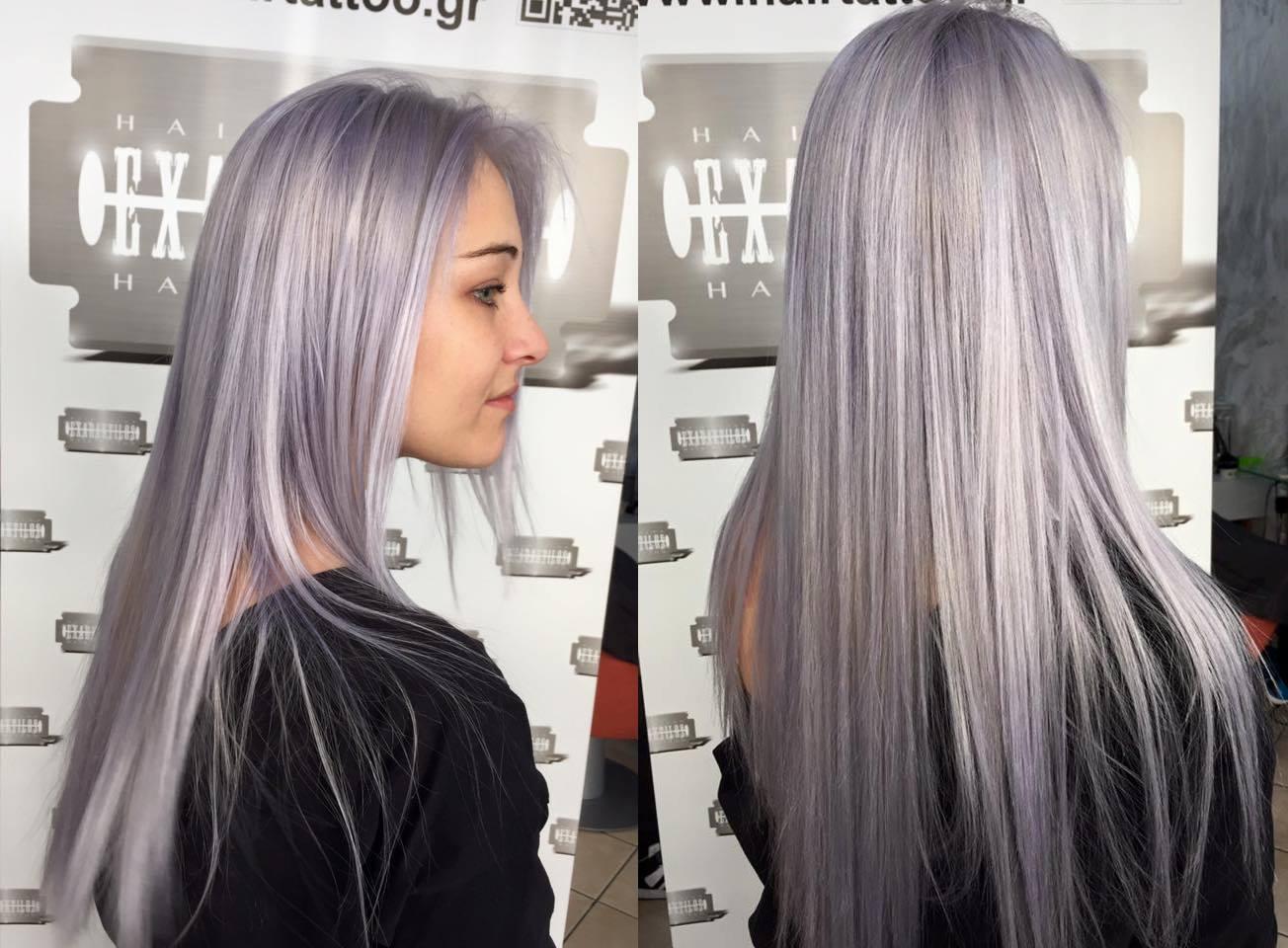 Wonderful Silver  Platinum Hairstyles - Platinum hairstyles