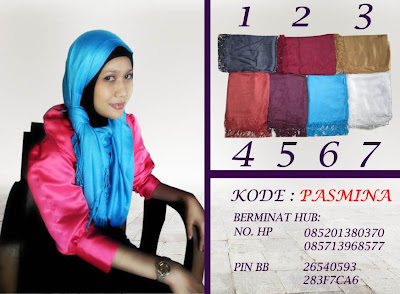 Model Jilbab Pashima Simple