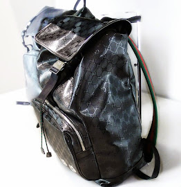 500 by Gucci GG imprimé backpack